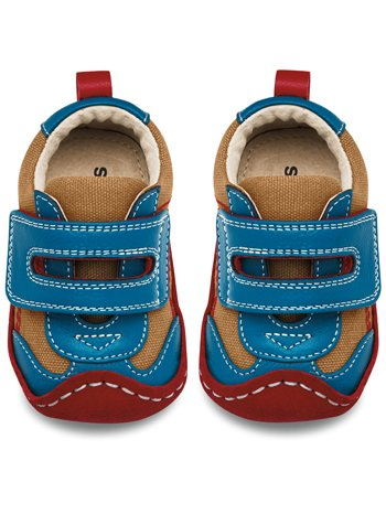 See Kai Run Richie Shoe (Infant/Toddler/Little Kid),Camel,6-9 Months M Us Infant front-934205