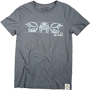 Troy Lee Designs McQueen Open Face Men's Short-Sleeve Casual T-Shirt/Tee - Gray / Medium