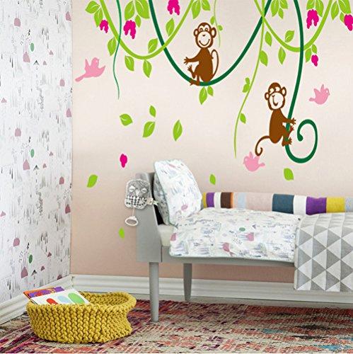 wandbilder baum kinderzimmer. Black Bedroom Furniture Sets. Home Design Ideas