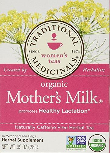 Traditional Medicinals Organic Mother's Milk Herbal Tea 2-pack;32 Count.