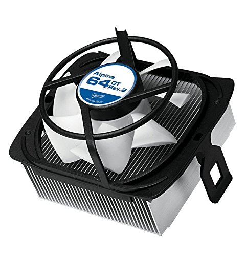 ARCTIC Alpine 64 GT Rev. 2 CPU Cooler - AMD, Supports Multiple Sockets, 80mm PWM Fan at 22dBA (Cpu Cooler For Am2 compare prices)