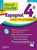Objectif College Espagnol 4e cahier d'entrainement