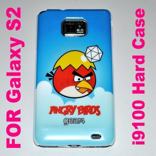Angry Birds Hard Back Case Cover for Samsung Galaxy S2 Case – I I9100