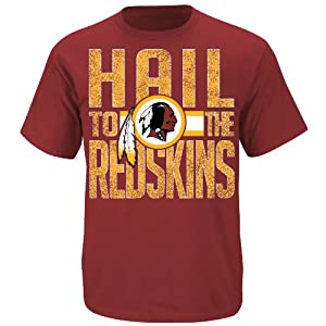 Washington Redskins Fantasy Leader II Garnet T Shirt by VF by VF