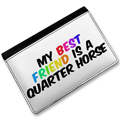Rfid Passport Holder My Best Friend A Quarter Horse American Quarter Horse, Cover Case / Wallet - Neonblond