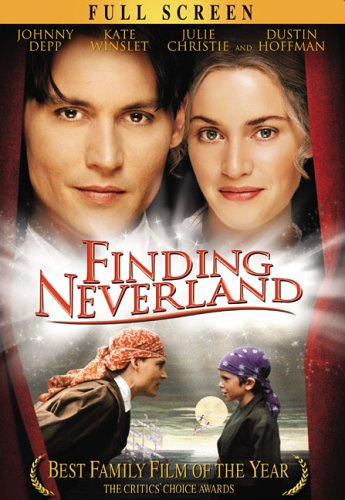 Cover art for  Finding Neverland