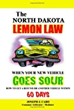 The North Dakota Lemon Law - When Your New Vehicle Goes Sour