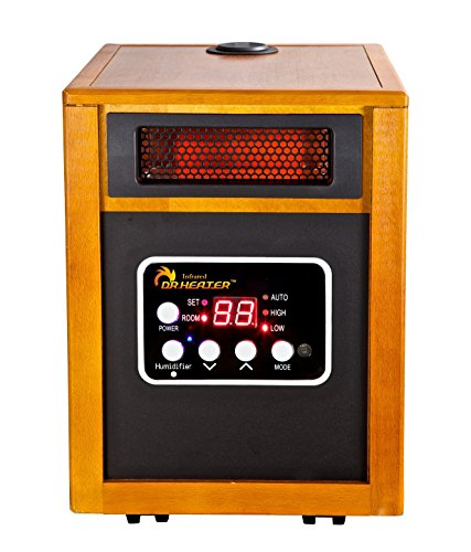 Dr. Infrared Heater Portable Space Heater with Humidifier, 1500-Watt (Humidifier Large Space compare prices)