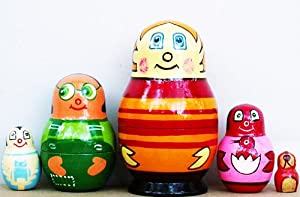 "Higglytown Heroes Nesting Dolls 4"" Fast Shipping"