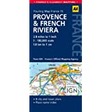 15. Provence & French Riviera: AA Road Map France (AA Touring Map France)