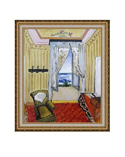 Henri Matisse My Room At The Beau-Rivage Framed Canvas