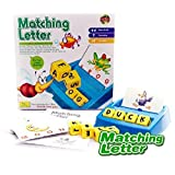 Educational Toys Desktop Games Family Fun Matching Letter Game Toy Preschooler First Matching Letter Game