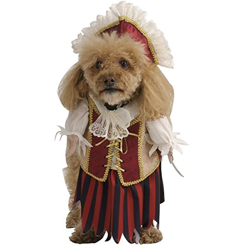 [GSG Pirate Queen Dog Doggy Halloween Pet Costume] (Gladiator Dog Costumes)