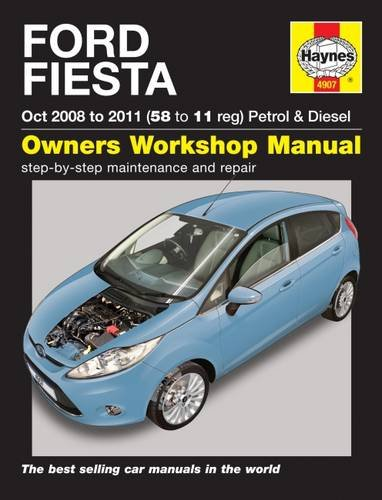 Ford Fiesta 08-11 Service and Repair Manual (Haynes Service and Repair Manuals) (Ford Fiesta Manual compare prices)