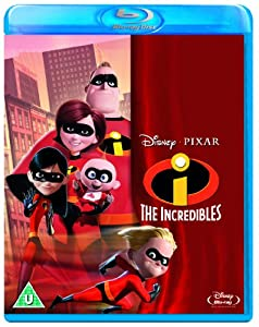 The Incredibles [Blu-ray] [2004] [Region Free]