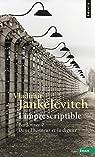 L'imprescriptible par Jankélévitch