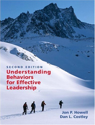 Understanding Behaviors for Effective Leadership (2nd...