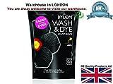 2x Dylon Wash & Dye Black Machine Dye Fabric Large 350G