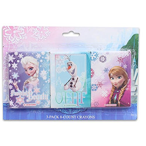 Disney Frozen Crayons 3pk 8ct