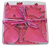 R & M 1819 Princess Cookie Cutter Set, 8-Piece