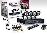 KIT VIDEOSORVEGLIANZA h264 CCTV 4 CANALI TELECAMERA INFRAROSSI+DVR+ALIMENTATORE - Best Reviews Guide