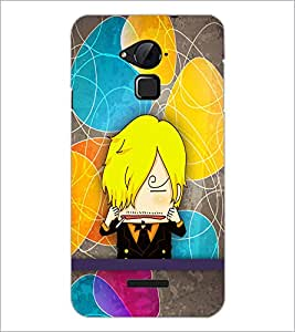 PrintDhaba Cartoon D-3339 Back Case Cover for COOLPAD NOTE 3 LITE (Multi-Coloured)