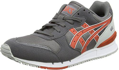 ASICS Gel-classic, Unisex-Erwachsene Sneakers, Grau (grey/chili 1124), 43.5 EU thumbnail