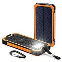 FKANT 15000mAh Solar Chargers by Coolbuy...