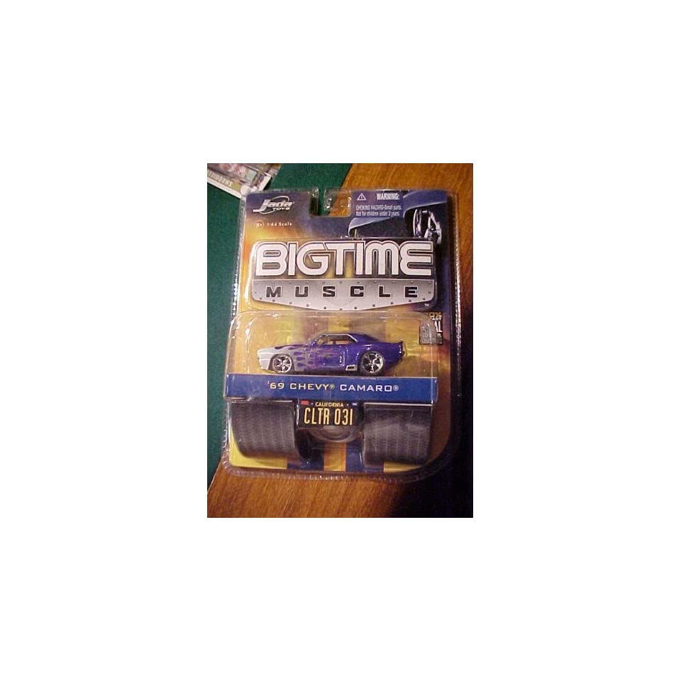 69 Chevy Camaro Bigtime Muscle Jada Toy Diecast 1/64 Scale