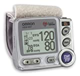 51HKQQ0A1ZL. SL160  Omron HEM 637 Wrist Blood Pressure Monitor with Advanced Positioning Sensor