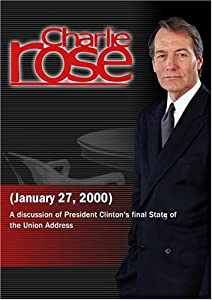 Charlie Rose with Garry Wills, Katrina vanden Heuvel, Rahm Emanuel & Joseph Lieberman (January 27, 2000)