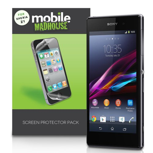 Yousave Sony Xperia Z1 Screen Protector Pack Of 3 Screen Protectors