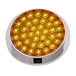 Speedwav YCL-640A Car Ceiling LED Roof Dome Light Yellow-Toyota Fortuner Old