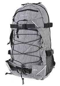 FORVERT Backpack New Louis, Navy White Striped, 50 x 30 x 15 cm, 880060