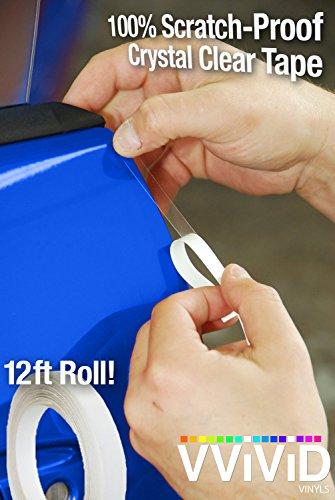 VViViD Clear Car Door Edge Sealing Paint Finish Protector Strip .38