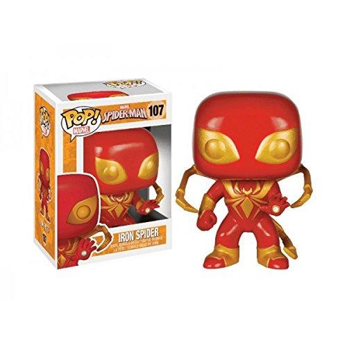 Funko - Figurina Captain America - Civil War - Iron Spiderman Exclu Pop 10Cm