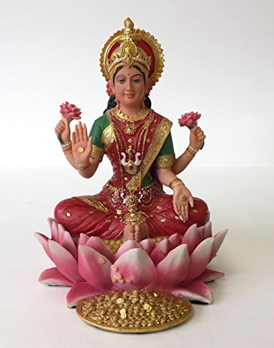 lakshmi-hindu-goddess-on-lotus-statue-sculpture