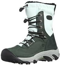 Hot Sale KEEN Women's Wilma Lace Snow Boot,Darkest Spruce/Misty Jade,9 M US
