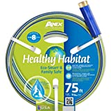Apex Healthy Habitat Eco-Smart and Family Safe Garden Hose, 9/16-Inch by 75-Feet 6336-75 (Discontinued by Manufacturer)