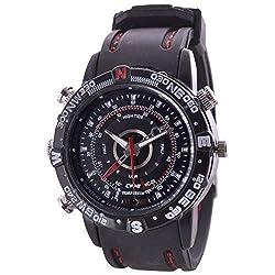 32GB HD Water Resistant Wrist Watch Camera