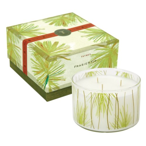 Thymes Large Multi-Wick Candle, Frasier Fir, 17-Ounce Jar