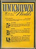 img - for UNKNOWN WORLDS Pulp Magazine December, 1941 book / textbook / text book