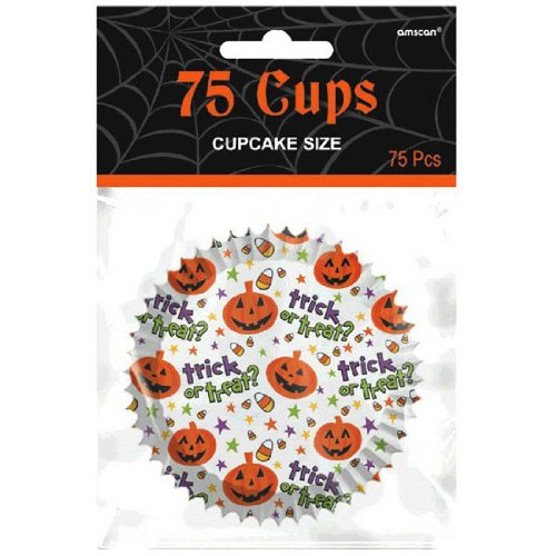 Spooktacular Paper Cupcake Cups (75 Count)