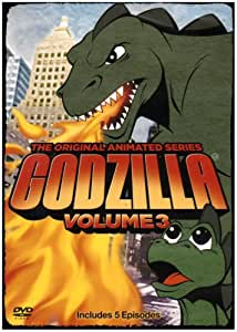 Godzilla the Original Animated Series 3 [DVD] [Region 1] [US Import] [NTSC]