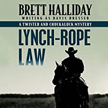 Lynch-Rope Law Audiobook by Brett Halliday Narrated by Eric G. Dove