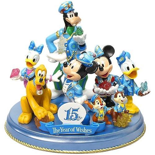 디즈니 C15주년 더・이어・오브・위시 미키& 후렌즈  대집합 피규어 ring TDS15th [도쿄 디즈니 C 한정]