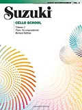 Suzuki Cello School, Vol 2: Piano Acc (Suzuki Method Core Materials)