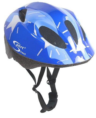 Sport DirectTM 11 Vent Casco Bici per Bambini, Blu 48-52C