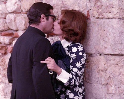 """Sophia Loren und Marcello Mastroianni (The Priest's Wife a.k.a. La Moglie Del Prete) Filmfoto - Standard - 10x8"""" (25x20cm)"""