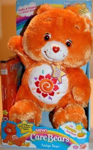 Care Bear Floppy Pose w/ DVD Amigo (Amigo Bear compare prices)